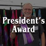President's Award - Arnold Van der Mast