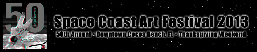 Space Coast Art Festival • Cocoa Beach, FL
