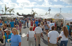 Space Coast Art Festival Crowd