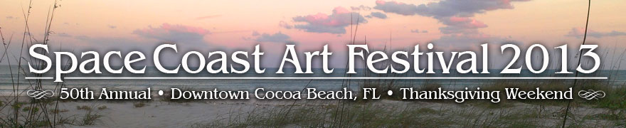 Space Coast Art Festival  Cocoa Beach, FL