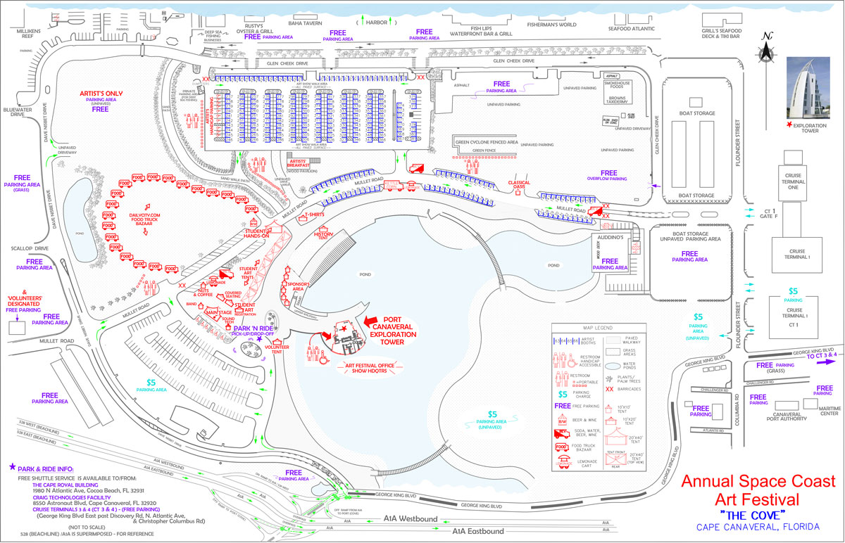 SCAF Map 2014 Cove