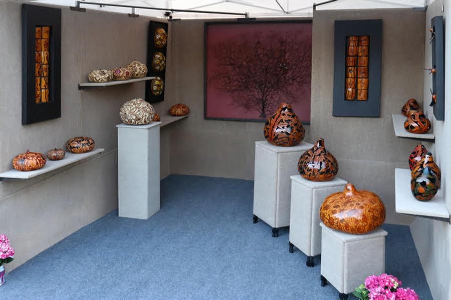 Cereghino-Groves, Magali - Merit Award, Leather, Fiber & Wood
