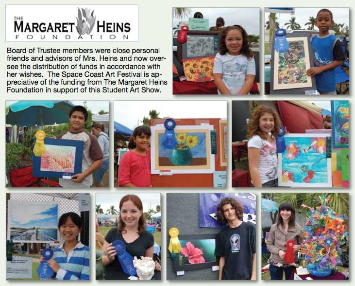 Space Coast Art Festival - Margaret Heins Student Art Show